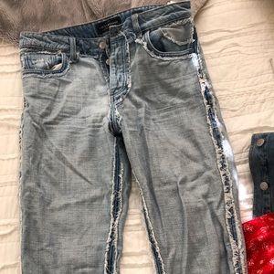 Lucky Brand straight leg jeans!